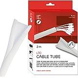 Label-the-cable Kabelslang/kabelskydd/kabelkanal: Vävd kabelmantel, självstängning, kan skäras utan fransning, mycket flexibe