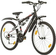 Multibrand, PROBIKE Speed 24, 24 Zoll, 330mm, FSP Mountainbike, 18 Gang, Unisex, Kotflügel Set