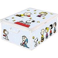 Lavatelli 1 boîte en carton pour rangement de vêtements, armoire, maison. Boîte à linge gain de place Peanuts, Snoopy…