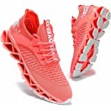 Womens Running Shoes Blade Tennis Walking Fashion Sneakers Breathable Non Slip Gym Sports Work Trainers