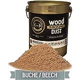 Grillgold Rookmeel Wood Smoking Dust voor het roken van vis, vlees en groenten in verschillende maten 2 liter, 5,5 liter, 15