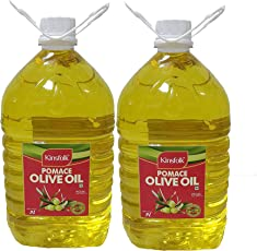 Kinsfolk Pomace Olive Oil - 5 LTR (Pack of 2) with Discount