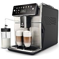 Saeco SM7583/00 Xelsis Kaffeevollautomat 12 Kaffeespezialitäten (LED-Display mit Direktwahltasten, 6 Benutzerprofile…