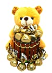 Rich'U Chocolates - Chocolate Gift Pack Combo - Soft Teddy Bear Pen-Stand with Chocolates Best for Birthday Anniversary...