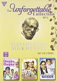 The Unforgettable Collection of Hrishikesh Mukherjee Set 2