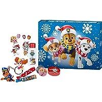 PAW Patrol - Adventskalender Beauty- und Pflege für Kinder, mit Überraschungen, Accessoires und tollem Zubehör, Deko-Box…