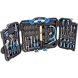 Karcher Gereedschapskoffer - 110-delige gereedschapsset van chroom-vanadium & koolstofstaal met hamer, schroevendraaier, stee