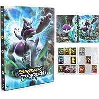 Pokemon Carte Album, Porta Carte Pokemon, Raccoglitore Carte Pokémon,Album Pokemon Cards GX EX Trainer,Album di Carte da…