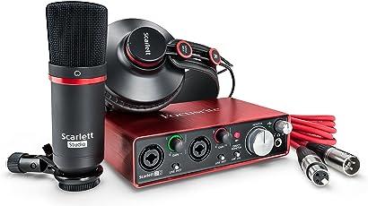 Focusrite Scarlett 2i2 Studio 2nd Gen USB Audio Interface and Recording Bundle