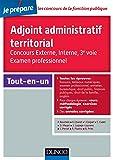 Adjoint administratif territorial - Concours et Examen professionel