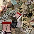 Lot de 366 feuilles de papier parchemin vintage pour scrapbooking, loisirs créatifs, création de cartes, journal, fournitures