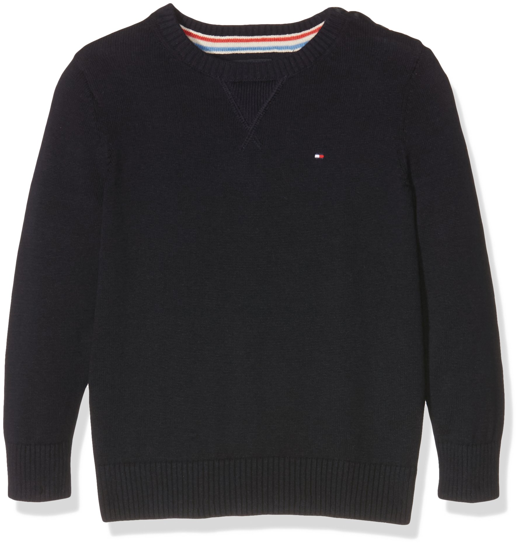 Tommy Hilfiger Basic Htr Cn Sweater L/S. Sudadera para Niños