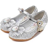 YONIER Principessa Scarpe Festive Scarpe col Tacco da Principessa per Bambina Buona qualità Partito Scarpe Principessa…