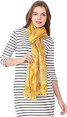 CARA Latestdesigner shawl For Women Party Wear, Scarf, Stole, Duppatta Art Silk