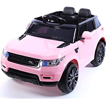 925651ecb81 OutdoorToys Kids Mini HSE Sports Style 12V Ride On Jeep Battery Operated  Electric Car with Parental Remote Control (Pink)