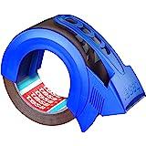tesa Pack Solid & Strong Stille afrolbare pakketband/pakband (voor het veilig sluiten van pakketten en afrollers)