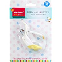 Baby Dreams MBD Baby Nail Clipper with Magnifier (Yellow)