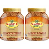 Dhampure Speciality Natural Jaggery Powder, Organic Natural Desi Shakkar Gur Gud Powder, Free from Chemical, Fertilizers & Pe