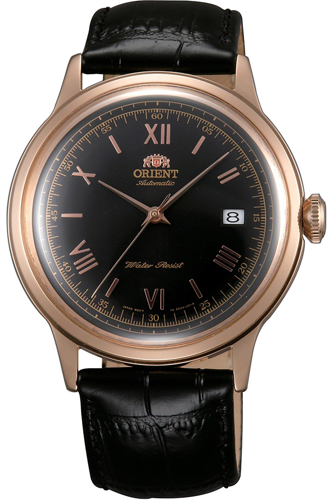 Orient Reloj Analógico para Hombre de Automático con Correa en Cuero FAC00006B0