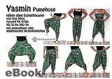 Yasmin Nähanleitung - nähen ohne Schnittmusterausdruck für Hänge-Hose [Download]