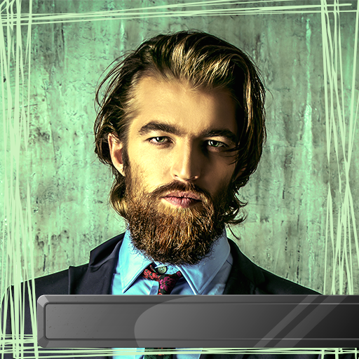 Bart für Männer Foto Montage