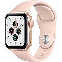Apple Watch SE (GPS, 40 mm) Aluminiumgehäuse Gold, Sportarmband Sandrosa