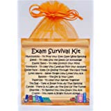 Exam Survival Kit - Unique Fun Novelty Good Luck Gift & Card All In One
