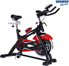 Spin Bike NB-S3| Spine Fitness Equipment| Exercise Cycle for Indoor Home Gym| 18Kg Flywheel| Gym Bike for Weight Loss| Trainer Fitness Cycle | Gym Bike (Imported)