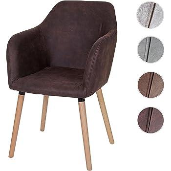 Massiver design stuhl supreme vintage braun massivholz for Ac design stuhl nora