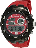 Spalding Analog-Digital Dial Men's Watch-SP-106 RED