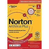 Norton Antivirus Plus 2021 |Antivirus 1 Dispositivo,Licenza di 1 anno con rinnovo automatico,PC o Ma...