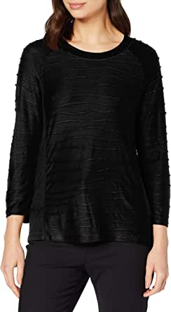 Betty Barclay 3862/2936 T-Shirt, Nero (Black 9045), 42 (Taglia Produttore: 36) Donna