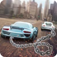 Racing chained cars 3D