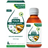 PHYTOSUN arôms SIROP TOUX Sèche & Grasse Adulte - Naturel * – Sirop pour le Soulagement de la Toux – 1 x 120 ml