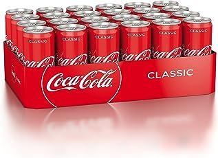 Coca-Cola Classic / Pure Erfrischung mit unverwechselbarem Coke Geschmack in stylischem Kultdesign / 24 x 330 ml Dose