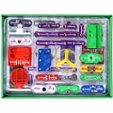 VFENG 335 Circuit Kits for Kids Circuit Experiment Kits Science Kits Electric Circuit Kits With 31 Snap parts Educational Sci