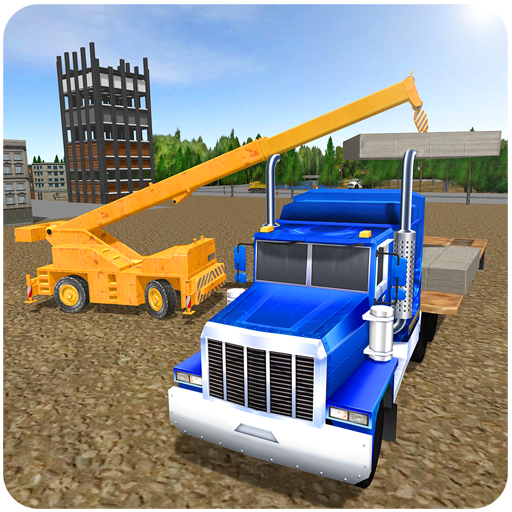 Bau Kran Hill Sim-3D - Und Dump Lkw, Graben