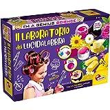 Liscianigiochi- I'm a Genius Gioco per Bambini Laboratorio dei Lucidalabbra, Multicolore, 72958