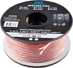 Speaker cables buy speaker cables online at best prices in india ce 14awg enhanced loud oxygen free bare copper speaker wire cable 100 feet greentooth Gallery