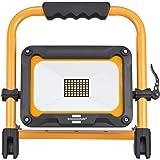 Brennenstuhl Naświetlacz LED JARO 3000 MA z akumulatorem / Reflektor LED do użytku na zewnątrz IP54 (Lampa Robocza LED z 3 po