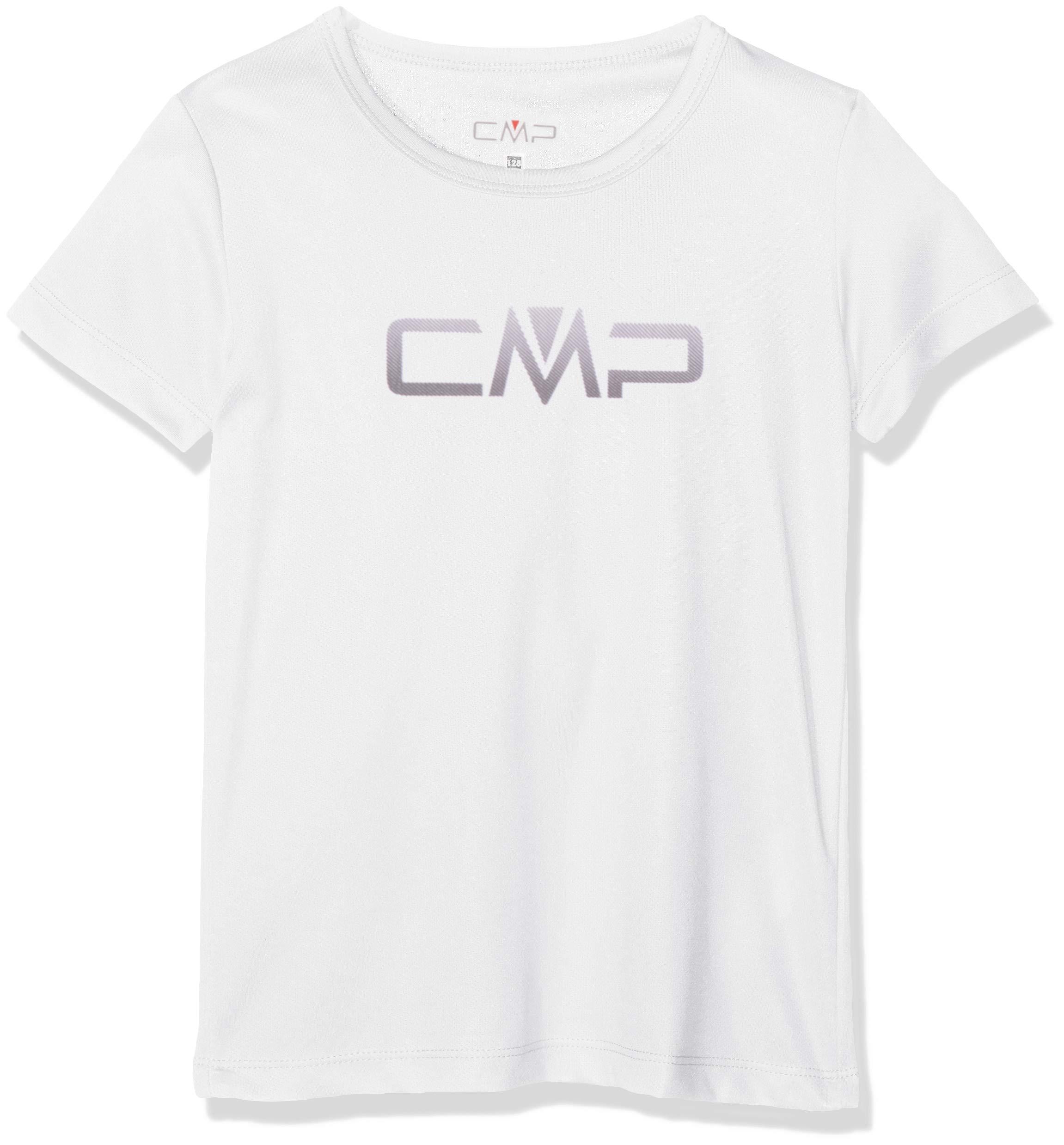 CMP Mädchen T-Shirt, Bianco, 176