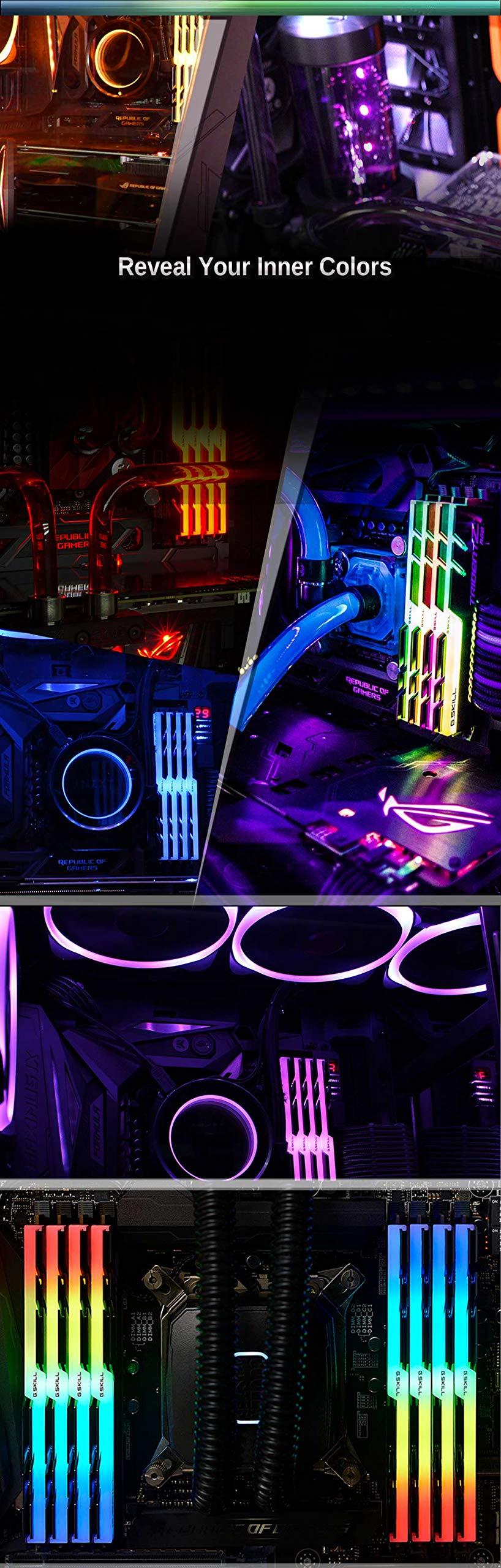 GSKILL-F4-3200C16D-16GTZR-Trident-Z-RGB-Series-16-GB-8-GB-x-2-DDR4-3200-MHz-PC4-25600-CL16-Dual-Channel-Memory-Kit-Black-with-full-length-RGB-LED-light-bar