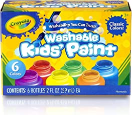 Crayola Washable Paint, Multi Color
