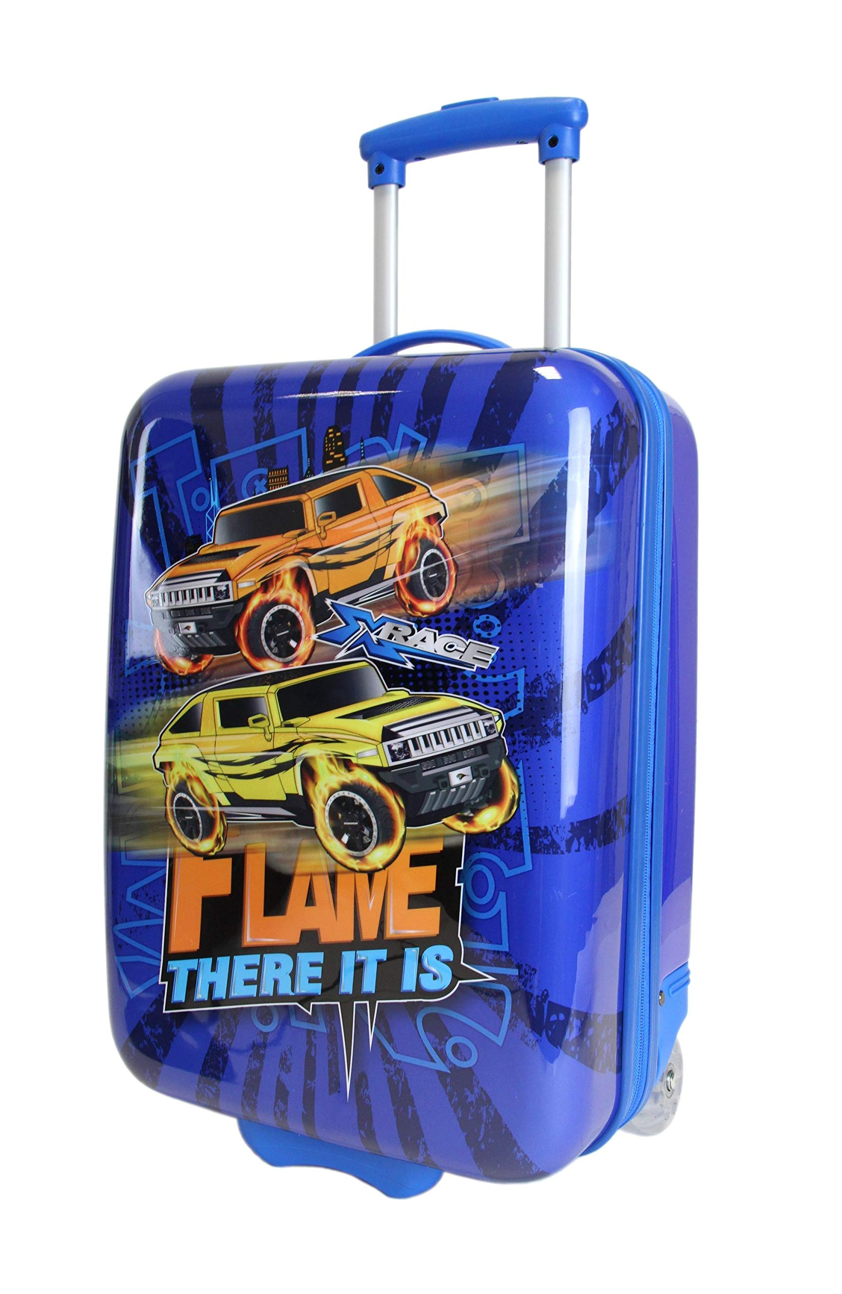 Frentree-Car-Race-Jungen-Kinder-Trolley-Hartschalen-Handgepck-Reisekoffer