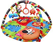 Play Gym,Safari Activity Play Mat /& Gym for New Born Babies and Baby PlayMat