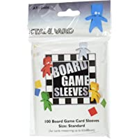 Asmodee-100 Board Game Sleeves : Standard 63x88mm-Asmodee-Jeu de Cartes à Collectionner, AT-10406
