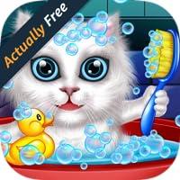 Waschen und behandeln Haustiere: helfen Katzen und Welpen! Lernspiel für Kinder - Beste Spiele KOSTENLOS (Actually Free)
