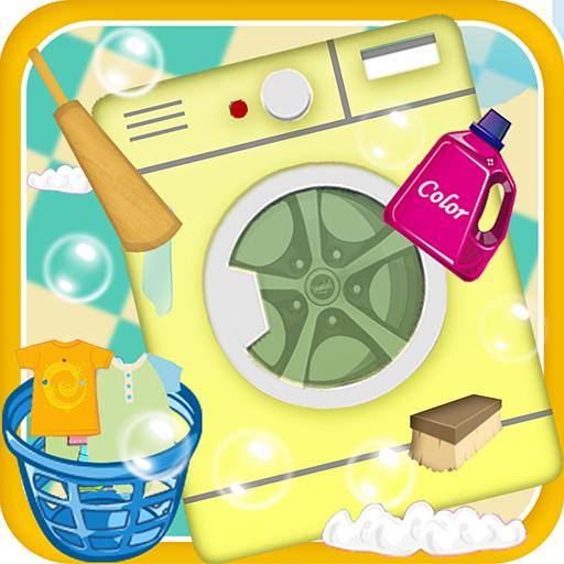 Kinder Wash & Eisen Kleidung - Wäscherei-Maschine