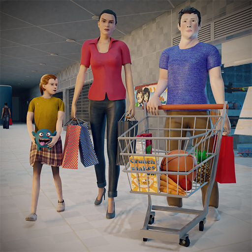 Virtual Mother Supermarket- Shopping Mall Games