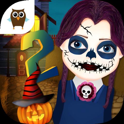 y 2 - Dress Up, Makeup, Nails & Pumpkin Carving (Dress Up Skeleton Halloween)